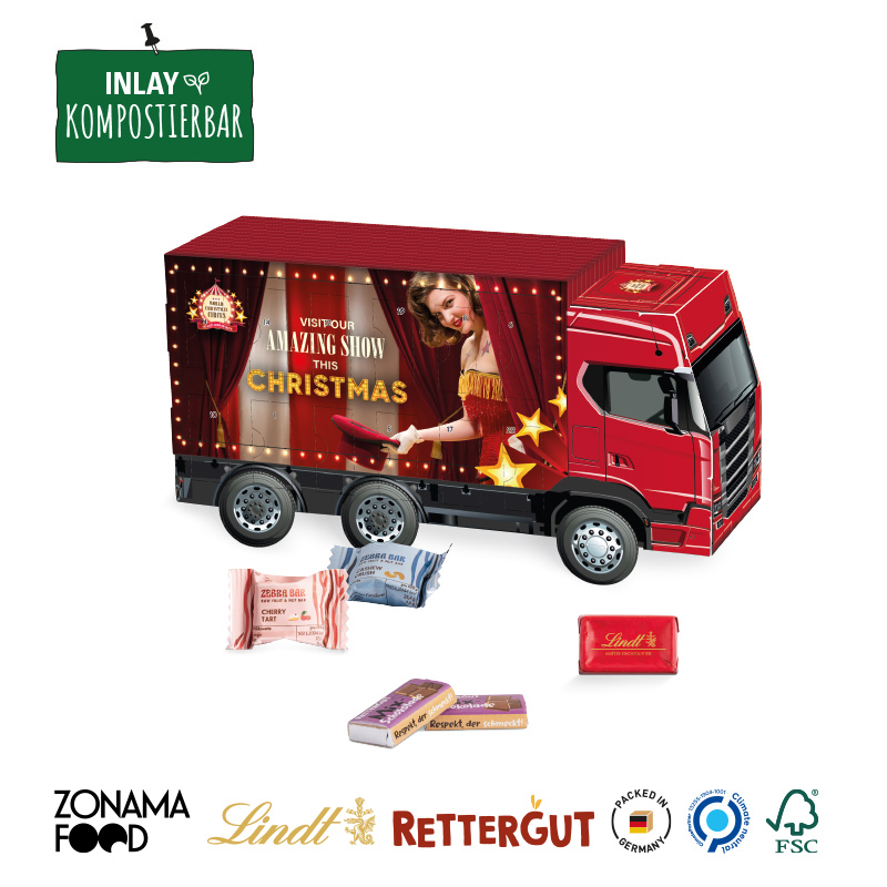Adventskalender LKW