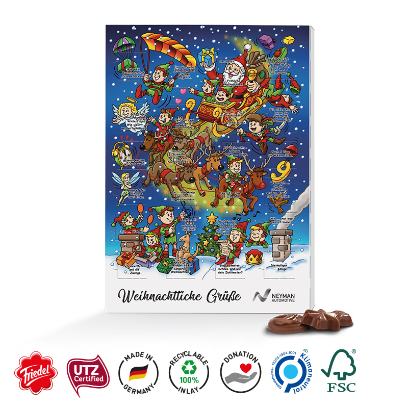 Classic Wand Adventskalender, Standardmotiv